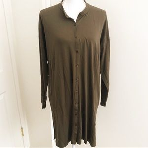 Eileen Fisher Olive Green tunic